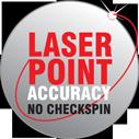 megaspin 820 laser point nauwkeurigheid