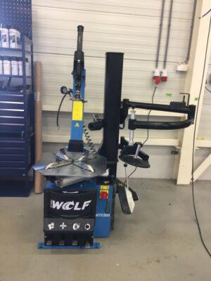 Wolf WTC500 de- en monteerapparaat