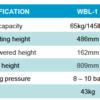 Wolf WBL-1 lift voor balanceerapparatuur-639