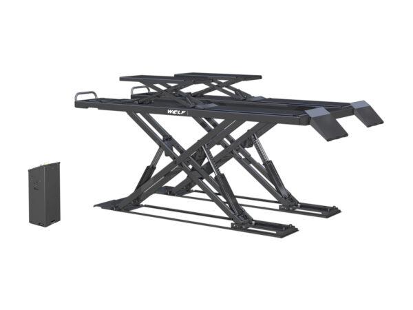 Opbouw schaarhefbrug geschikt voor APK