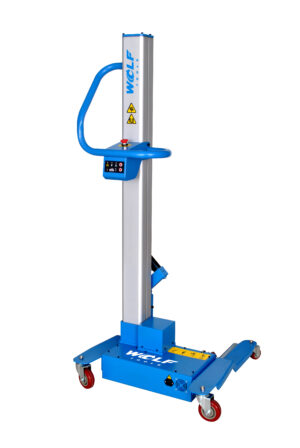 Wolf Tools mobiele wiellift banden lift, draadloos op lithium battery-0