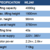 Wolf WL240 Hydraulische 2-koloms hefbrug AANBIEDING-1178
