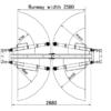 Wolf WL240 Hydraulische 2-koloms hefbrug AANBIEDING-1180